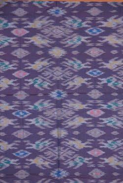 Endek cloth detail