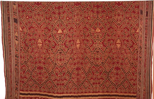 Pua Kombu ikat textile