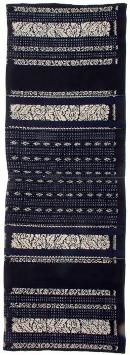 woman's sarong from Savu